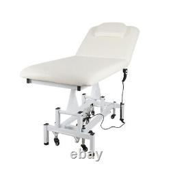 2 Fold Massage Chair Bed Electric Table Salon Couch Backrest Beauty/Treatment