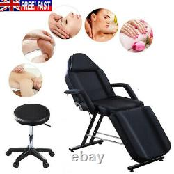 Adjustable Beauty Salon Massage Bed Chair Stool Tattoo Therapy Table Recliner