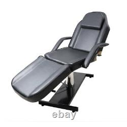 Adjustable Hydraulic Massage Bed Facial Beauty Leather Chair Salon Tattoo Table