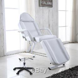 Adjustable Massage Couch Bed Chair & Stool For Beauty Salon Table Tattoo Therapy