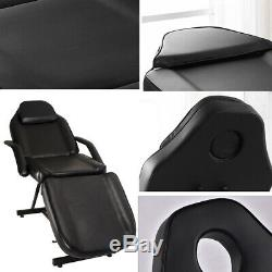 Adjustable Massage Table Beauty Salon Tattoo Therapy Couch Bed Chair & Stool UK