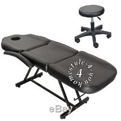 Balance Massage Table Bed Beauty Salon Chair Facial Treatment Tattoo Couch Stool