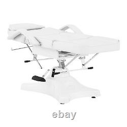 Beauty Bed Massage Bed Massage Table Salon Bed Cosmetic 60-79cm 200kg White