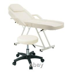 Beauty Bed Salon Couch Chair Massage Table Tattoo Facial Body Treatment withStool