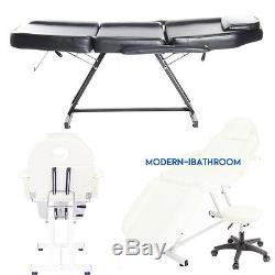Beauty Reclining Salon Chair/Massage Table Facial &Tattoo Bed Couch + FREE Stool