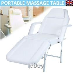 Beauty Salon Chair Bed Reclining Spa Therapy Massage Table Tattoo Couch Stool