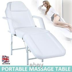 Beauty Salon Chair Bed Tattoo Couch Stool Reclining Facial Therapy Massage Table