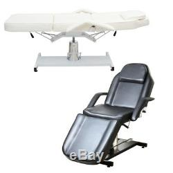Beauty Salon Facial Care Bed Masage Table Hydraulic Chair Stand Swiveling Stool