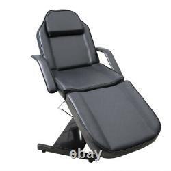 Beauty Salon Hydraulic Bed Massage Table Tattoo Spa Treatment Couch Chair Black