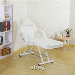 Beauty Salon Massage Bed Chair Black With Stool Tattoo Therapy Table recliner UK
