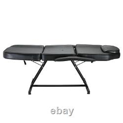 Beauty Salon Massage Bed Chair with Stool Tattoo Therapy Table Recliner Spa