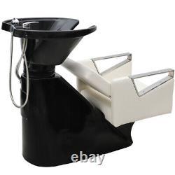 Beauty Salon Shampoo Hairdressing Backwash Hair Wash Bed Basin Sink Chair