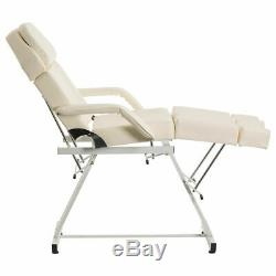 CREAM MANUAL PEDICURE TREATMENT COUCH SALON BEAUTY MASSAGE CHAIR TABLE BED Wido