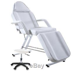 Cream Beauty Salon Bed Stool Waterproof Massage Couch Table Chair Tattoo Therapy