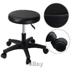 Electric Beauty Bed Adjustable Pro Facial Bed withTattoo Massage Salon Chair Black