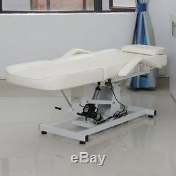 Electric Beauty Salon Chair Massage Table Tattoo Facial Therapy Couch Bed Stool