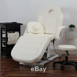 Electric Beauty Therapy Salon Treatment Massage Table Couch Chair Bed + Stool UK