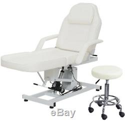 Electric Beauty Therapy Salon Treatment Massage Table Couch Chair Bed With Stool