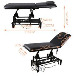 Electric Massage Bed Adjustable Couch Chair Recliner Beauty Salon Table Facial