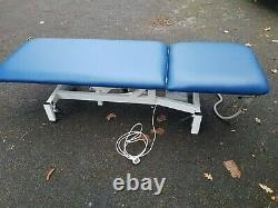 Electric MediPlinth Physiotherapy, massage, beauty salon, spa couch, bed, table