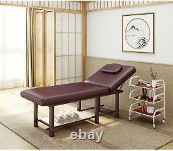 Folding Beauty Salon Tattoo Facial SPA Massage Table Treatment Chair Table Bed