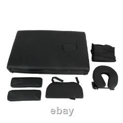 Folding Massage Table Beauty Bed Massage Therapy Couch Bed Salon Facial SPA Set