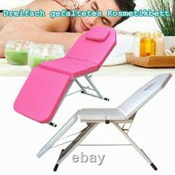 Folding Massage Table Bed Therapy Beauty 3 Sections Couch Salon Portable SALE