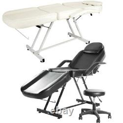 Folding Reclining Massage Table Spa Beauty Bed Couch Salon Tattoo Therapy Chair