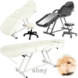 Hydraulic Beauty Salon Bed Massage Table Tattoo Facial Spa Treatment Couch Chair