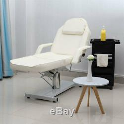 Hydraulic Manual Beauty Bed Salon Massage Table Couch Bed Height Adjustable Beds