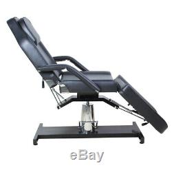 Hydraulic Massage Table Bed PU Leather Beauty Couch Bed Salon Cosmetic Chair NEW