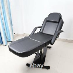 Hydraulic Massage Table Spa Bed Beauty Salon Chair Therapy Tattoo Couch Recliner