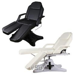 Hydraulic Pedicure Chair Massage Table Tattoo Therapy Couch Spa Bed Beauty Salon
