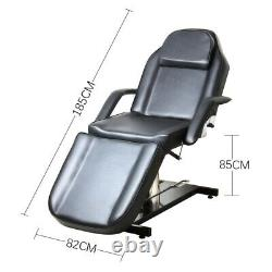 Hydraulic Sturdy Beauty Salon Bed Chair PVC SPA Body Building Massage Table UK