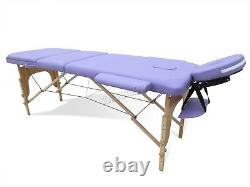 KMS Portable Folding Massage Table Beauty Salon Tattoo Therapy Couch Bed
