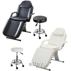 Massage Bed Table Couch Tattoo Therapy Salon Reiki Beauty Spa Treatment Recliner