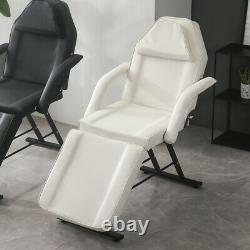 Massage Chair Bed With Stools Beauty Salon Chair Bed Tattoo Couch Stool Black