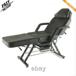 Massage Table 3 Section Adjustable Bed Couch Beauty Salon Tattoo Recliner Chair