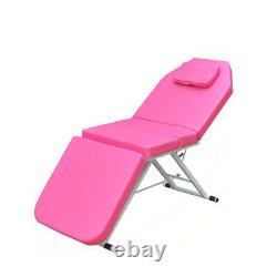 Massage Table Beauty Couch Bed Spa Salon Treatment Bed Couch Portable Folded UK