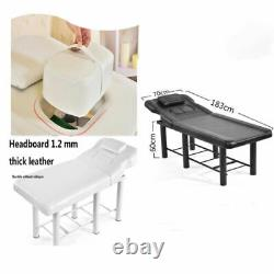 Massage Table Bed Multi-purpose Beauty Salon Therapy Tattoo Couch Black/white