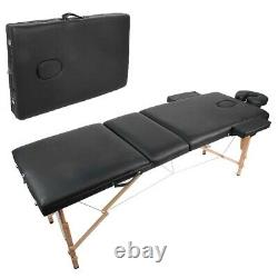 Massage Table Bed Portable Beauty Couch Professional Folding Salon Tattoo Device
