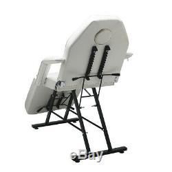 Massage Table Chair Couch Bed Beauty Salon Facial Therapy SPA Recliner withStool