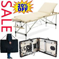 Massage Table Portable Folding Couch Lightweight Sturdy Beauty Salon Tattoo Bed