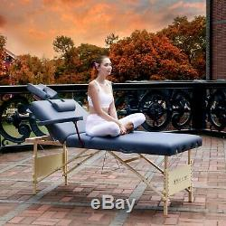 Master Massage 76cm CORONAD SALON Portable Massage Table Beauty Bed with Lift Back