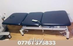 Medical Patient ELECTRIC 3way examination Couch bed for Beauty, Salon. Good cond