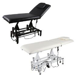 Mobile Electric Massage Table Bed Beauty Salon Facial Spa Threading Couch Chair