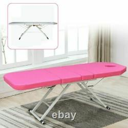 PVC Folding Massage Beauty Bed Therapy Table Bed Salon Couch Rest Bed