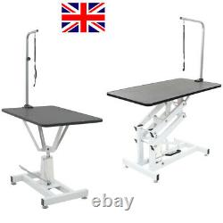 Pet Hydraulic Grooming Table Dog Cat Beauty Salon Bath Bed Desks with Arm Nooses