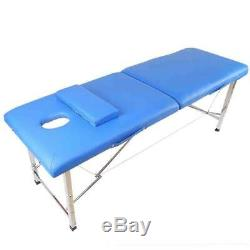 Portable Foldable Massage Table Beauty Salon Tattoo Therapy SPA Couch Bed Chair
