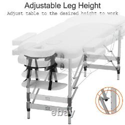 Portable Folding Lightweight Massage Table Bed Relax Salon Beauty Therapy Couch